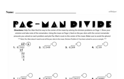 Division Worksheets - Free Printable Math PDFs Worksheet #13