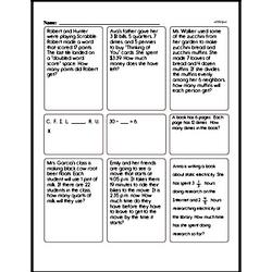 Fourth Grade Fractions Worksheets - Fractions and Parts of a Whole Worksheet #1