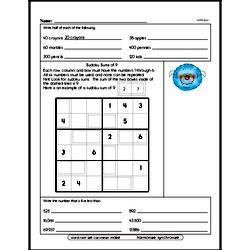 Fourth Grade Fractions Worksheets - Subtracting Fractions Worksheet #2