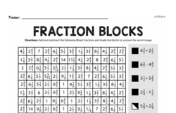 Fraction Worksheets - Free Printable Math PDFs Worksheet #243