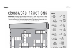 Fraction Worksheets - Free Printable Math PDFs Worksheet #66