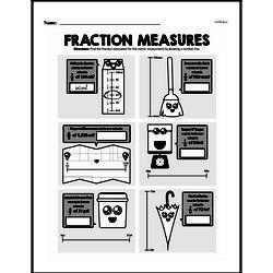 Fraction Worksheets - Free Printable Math PDFs Worksheet #207