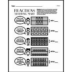 Fraction Worksheets - Free Printable Math PDFs Worksheet #193