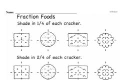 Fourth Grade Fractions Worksheets Worksheet #37