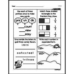 Fraction Worksheets - Free Printable Math PDFs Worksheet #116