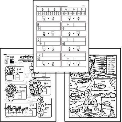 Fractions Workbook (all teacher worksheets - large PDF)