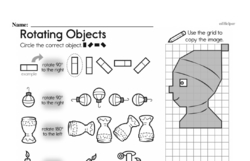 Fourth Grade Geometry Worksheets - 2D Shapes Worksheet #20