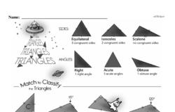 Fourth Grade Geometry Worksheets - 2D Shapes Worksheet #26