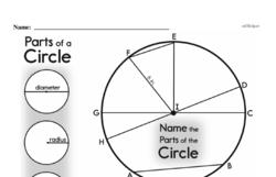 Fourth Grade Geometry Worksheets - 2D Shapes Worksheet #29