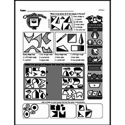 Fourth Grade Geometry Worksheets - 2D Shapes Worksheet #2