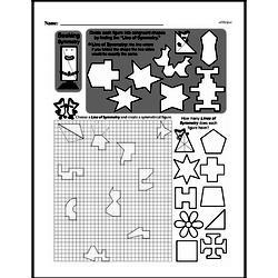 Fourth Grade Geometry Worksheets - 2D Shapes Worksheet #9