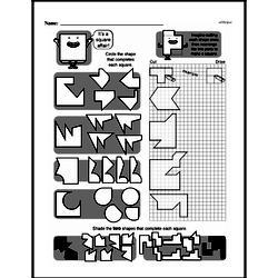 Fourth Grade Geometry Worksheets - 2D Shapes Worksheet #3