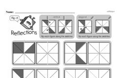 Fourth Grade Geometry Worksheets - 2D Shapes Worksheet #13