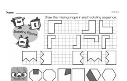 Fourth Grade Geometry Worksheets - 2D Shapes Worksheet #17