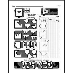 Fourth Grade Geometry Worksheets - 2D Shapes Worksheet #8