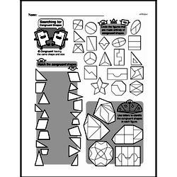 Fourth Grade Geometry Worksheets - 2D Shapes Worksheet #11