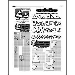 Fourth Grade Geometry Worksheets - 2D Shapes Worksheet #23