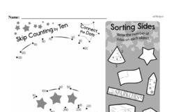 Fourth Grade Geometry Worksheets - 2D Shapes Worksheet #21
