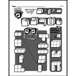 Fourth Grade Geometry Worksheets - 3D Shapes Worksheet #8