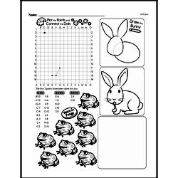 Fourth Grade Geometry Worksheets - Graphing Points on a Coordinate Plane Worksheet #5