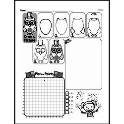 Fourth Grade Geometry Worksheets - Graphing Points on a Coordinate Plane Worksheet #6