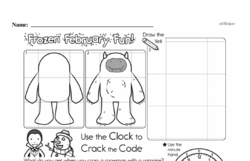 Fourth Grade Geometry Worksheets - Graphing Points on a Coordinate Plane Worksheet #7