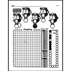 Fourth Grade Geometry Worksheets - Graphing Points on a Coordinate Plane Worksheet #8