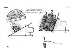 Fourth Grade Geometry Worksheets - Lines and Angles Worksheet #19