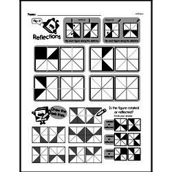 Fourth Grade Geometry Worksheets - Lines and Angles Worksheet #7