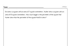 Geometry - Perimeter Workbook (all teacher worksheets - large PDF)