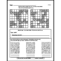 Fourth Grade Geometry Worksheets - Perimeter Worksheet #1