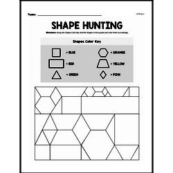 Geometry Worksheets - Free Printable Math PDFs Worksheet #78