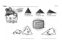 Fourth Grade Geometry Worksheets Worksheet #25