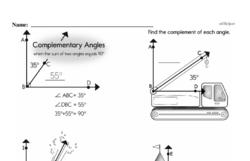 Fourth Grade Geometry Worksheets Worksheet #13