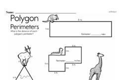 Fourth Grade Geometry Worksheets Worksheet #27