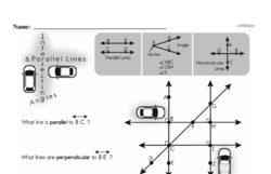 Fourth Grade Geometry Worksheets Worksheet #15