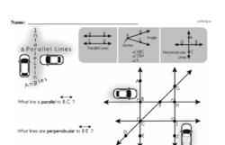Fourth Grade Geometry Worksheets Worksheet #16