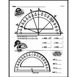 Fourth Grade Geometry Worksheets Worksheet #20