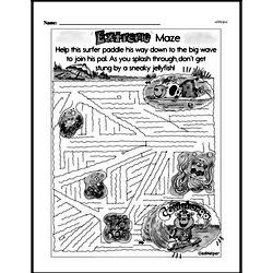Fourth Grade Math Challenges Worksheets - Puzzles and Brain Teasers Worksheet #159
