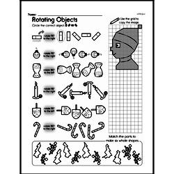Fourth Grade Math Challenges Worksheets - Puzzles and Brain Teasers Worksheet #130