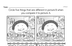 Fourth Grade Math Challenges Worksheets - Puzzles and Brain Teasers Worksheet #91