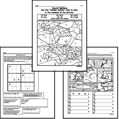 Math Challenges - Puzzles and Brain Teasers Mixed Math PDF Book
