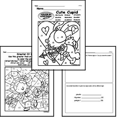 Math Challenges - Puzzles and Brain Teasers Mixed Math PDF Workbook for Fourth Graders
