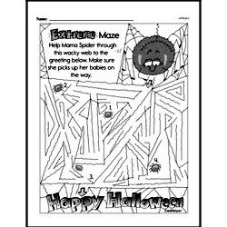 Fourth Grade Math Challenges Worksheets - Puzzles and Brain Teasers Worksheet #137