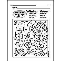 Fourth Grade Math Challenges Worksheets - Puzzles and Brain Teasers Worksheet #160