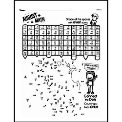 Fourth Grade Math Challenges Worksheets - Puzzles and Brain Teasers Worksheet #72