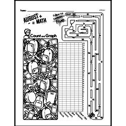Fourth Grade Math Challenges Worksheets - Puzzles and Brain Teasers Worksheet #80