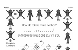 Fourth Grade Math Challenges Worksheets - Puzzles and Brain Teasers Worksheet #147