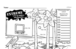 Fourth Grade Math Challenges Worksheets - Puzzles and Brain Teasers Worksheet #104