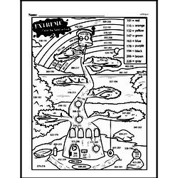 Fourth Grade Math Challenges Worksheets - Puzzles and Brain Teasers Worksheet #21